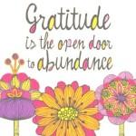 Dear Life; Gratitude Overload