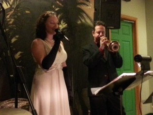 """Anna Paolucci & Tim Perdue performing a beautiful vocal & trumpet duo rendition of """"Summertime"""""""