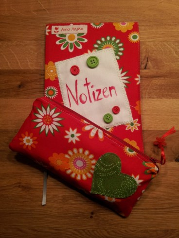 Einband Notizbuch