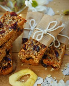 Apple and Cranberry Bars
