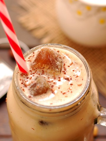 Vanilla Bean Iced Coffee