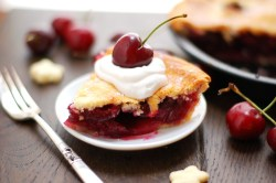 Cherry Whipped Cream Pie