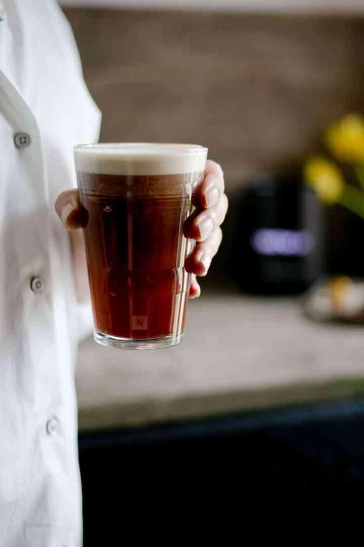 Nespresso- Iced Nitro Coffee #coffee #icedcoffee #coldbrew | via @annabanana.co