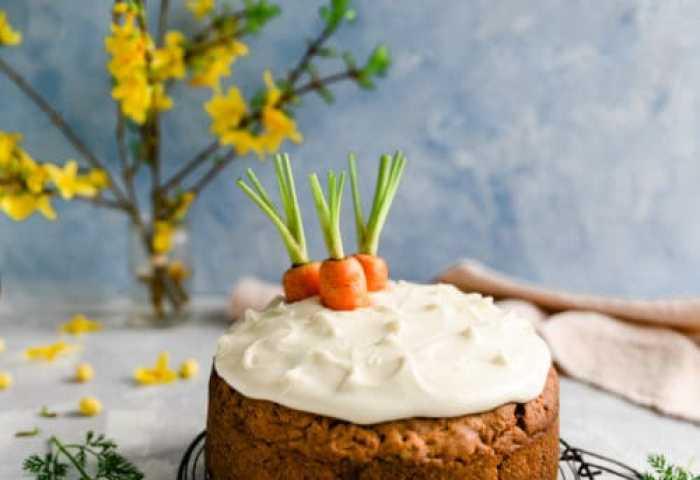 Easy Vegan Carrot Cake Anna Banana