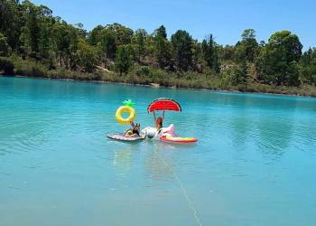 Top 10 Waterfalls and Swimming Holes to Visit Near Perth - including Black Diamond Lake