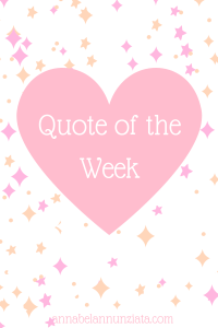 Quote of the week – April 23