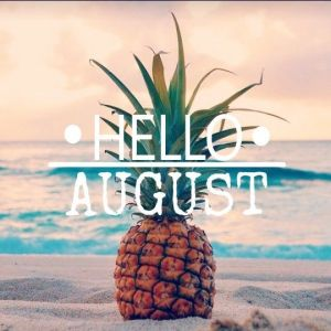 🌴🍍<strong>Hello August…
