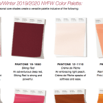 Fall/Winter 2019 Colour Palette | Which Colours Are In This Season