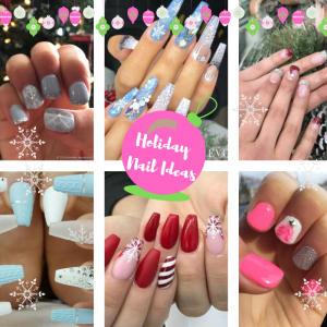 The Most Glamorous Holiday Nail Ideas | Blogmas Day 5