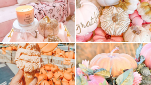 56 Pink Glam Fall and Halloween Decor Ideas