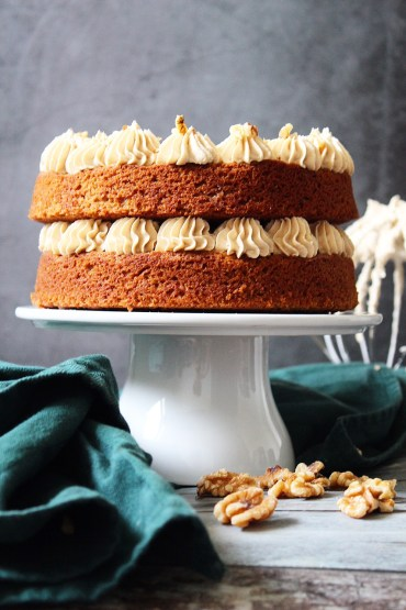 Espresso walnoot cake recept