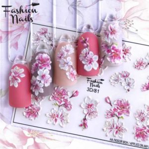 Fashion Nails, Слайдер дизайн 3D-81