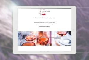 Logo Couleurs&Caudalie traiteur bio et vente de vins nature à Montpellier