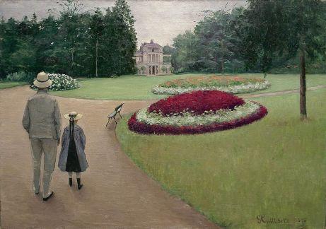 La propriété Caillebotte, Caillebotte 1875