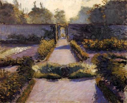 Le jardin potager, Yerres 1877, Caillebotte Wikimedia Commons