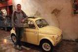 Ben at the 'Classic Cars' exhibit at Venus Fort