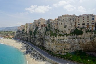 View of Tropea from Santa Maria del'Isolla