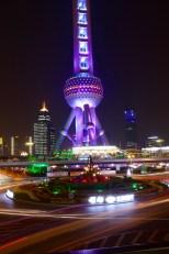 View of Shanghai Oriental Pearl Tower