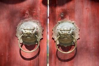 Beijing doorway