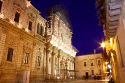 Lecce Santa Croce church