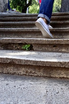 We racked up lots of steps while in Rome