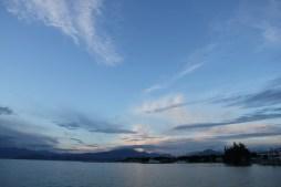 Peschiera del Garda sunset