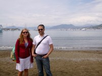 Anna and Tom in Sestri Levante