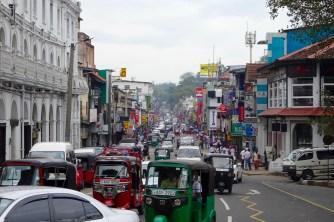 Busy Kandy street
