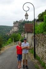 Ben's parents in Rocamadour