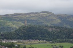 Stirling - you can see the William Wallace Monument on the hill