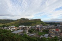 Edinburgh - view of 'Arthur's Seat' from Calton Hill