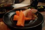 Sashimi at Kinkaku Izakaya in Kitchener