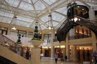 The Rookery lobby (designed by Frank Lloyd Wright)