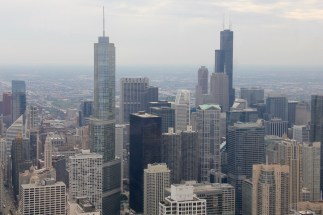 Chicago skyline - view from the John Hancock Building