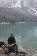 Ben at Lake Louise