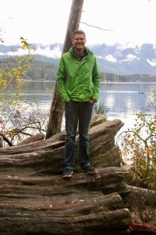 Ben at Sproat Lake