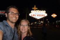 Selfie in Las Vegas
