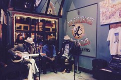 The Spotted Cat Jazz Club in New Orleans, Louisiana
