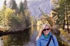 Anna at Yosemite National Park