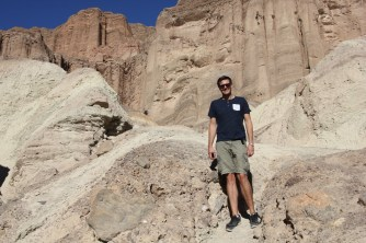 Ben at the end of our hike in Death Valley National Park