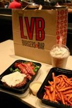 LVB Burger Bar at the Mirage .... yum!