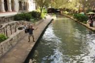 Ben on the San Antonio Riverwalk, Texas