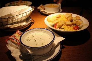 Red Lobster - clam chowder