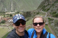 Selfie in Ollantaytambo, Peru