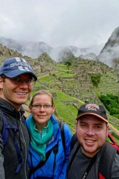 Selfie with Matt at Machu Picchu, Peru