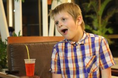 Gabriel having fun in Varadero