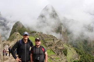 Ben and Matt at Machu Picchu, Peru