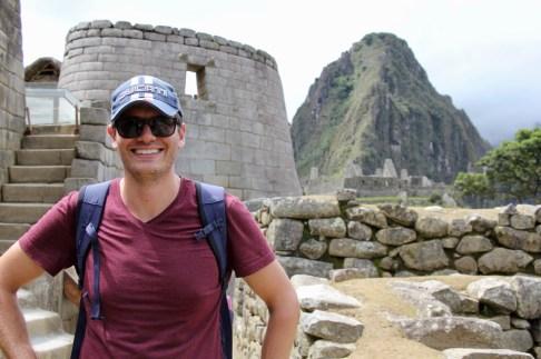 Ben at Machu Picchu, Peru