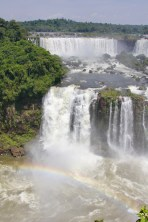 Iguazu Falls, view of Argentinian side from Brazil