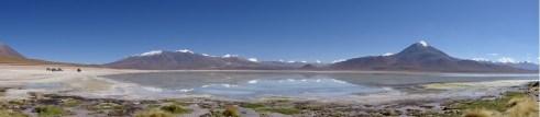 Laguna Blanco, Bolivia (it freezes over in the winter)